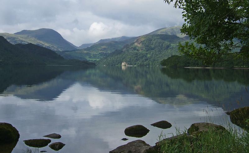 Lake Ullswater, within walking distance.