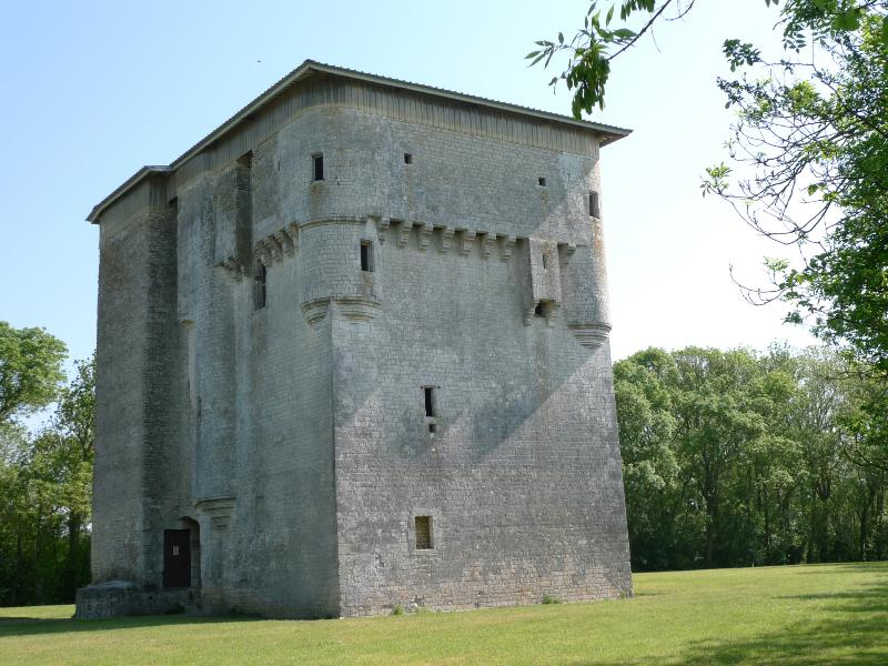The Medieval Tower at Moricq
