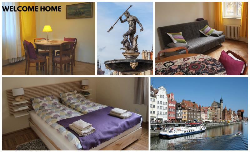 Please come visit Gdansk and stay at my apartment.