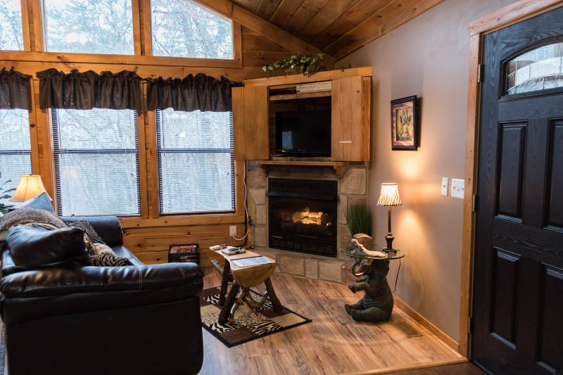 Jungle Safari - Pigeon Forge  Secluded Vacation Rental Cabin, vacation rental in Pigeon Forge