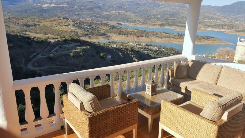 Relax and enjoy the view from our comfy terrace
