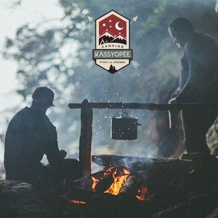 Venez vivre la légende du Camping Kassyopée, holiday rental in Notre Dame des Bois