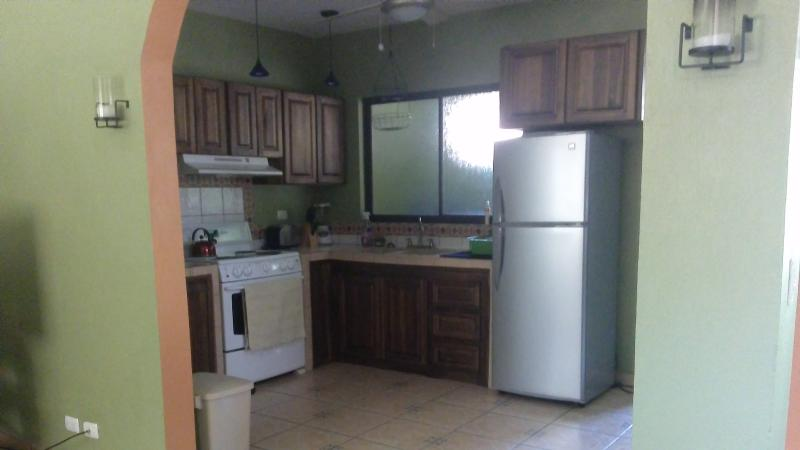 Large kitchen with lots of amenities
