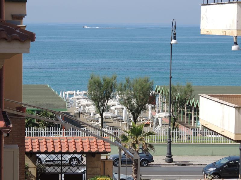 Vista mare dalla zona pranzo