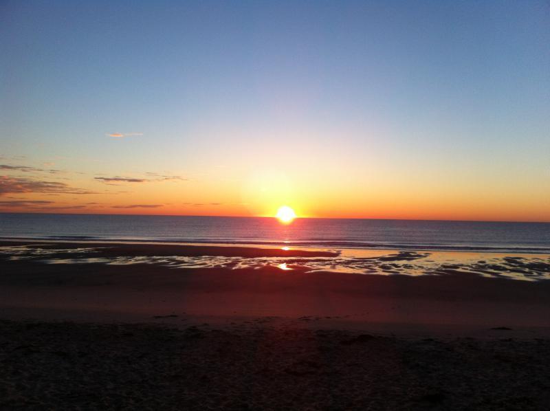 Sunset Pilgrim Pines Beach