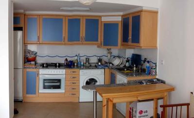 vista completa de la cocina