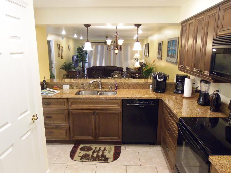 Keurig Coffee, New Cabinets, Appliances and lighting. Ultra Quiet Dishwasher