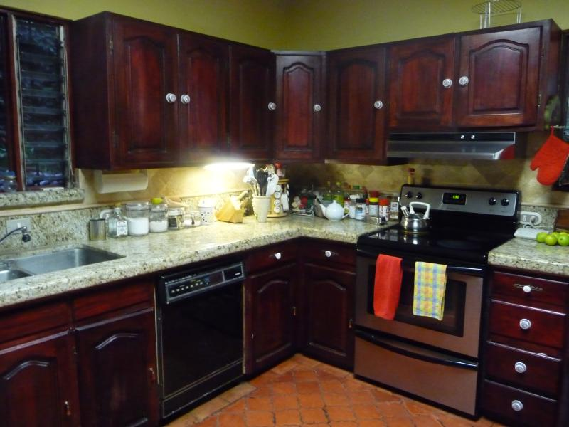 Just part of our Lg. Kit,  Xlg. Pantry & laundry area /2nd Refrid. & Freezer. w/employee suite.