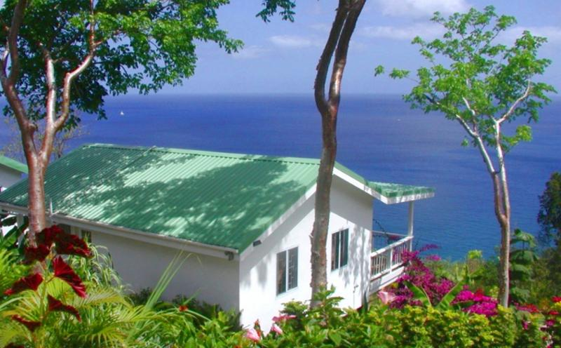 BANANA COTTAGE: Awesome Caribbean Sea Views.
