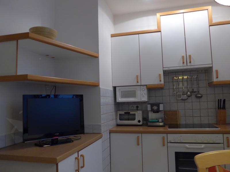 TV in kitchen with SAT TV