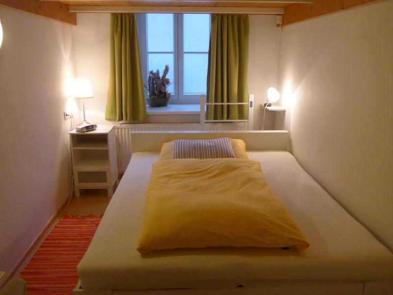 Bedroom, double bed - set for one person.