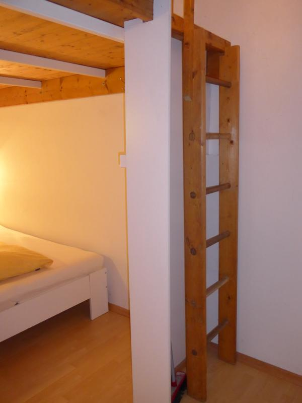 Ladder accesss to loft leven with sofa bed