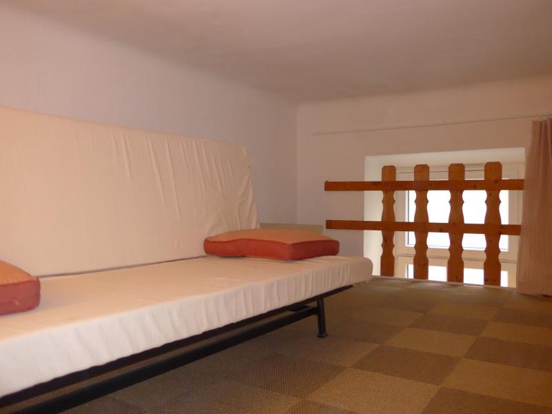 Loft level sofa bed