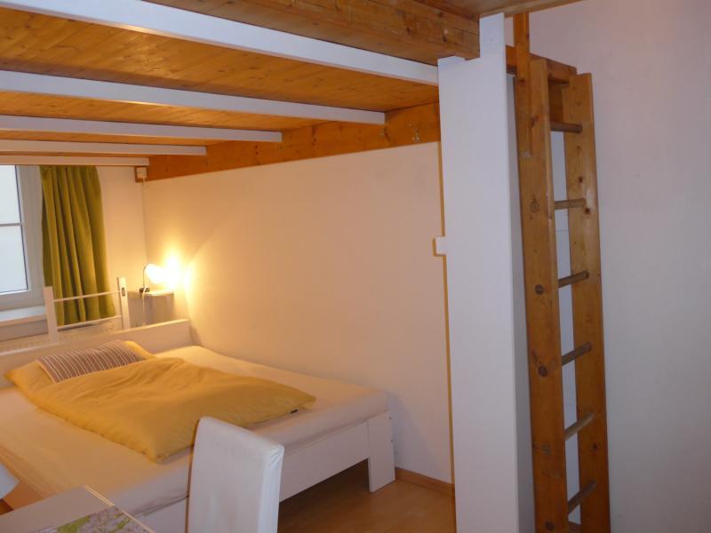 Bedroom with loft level