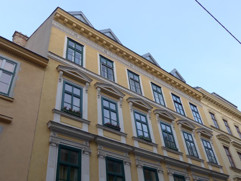 Building street front
