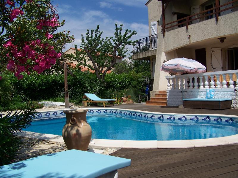 Noleggio Montpellier fondo del mare villa indipendente con piscina privata