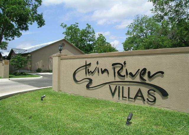 Twin River Villa's Entrance