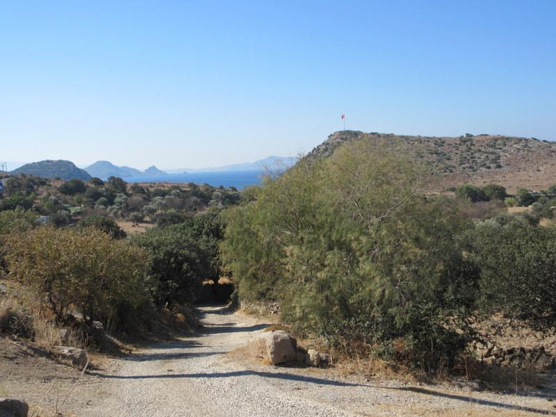 Donkey Track to Gumusluk Beach - a pleasant walk from the Villa (15-20 minutes total)