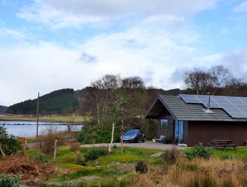 Kirkland Lodge overlooking Loch Sween near Achnamara, Argyll