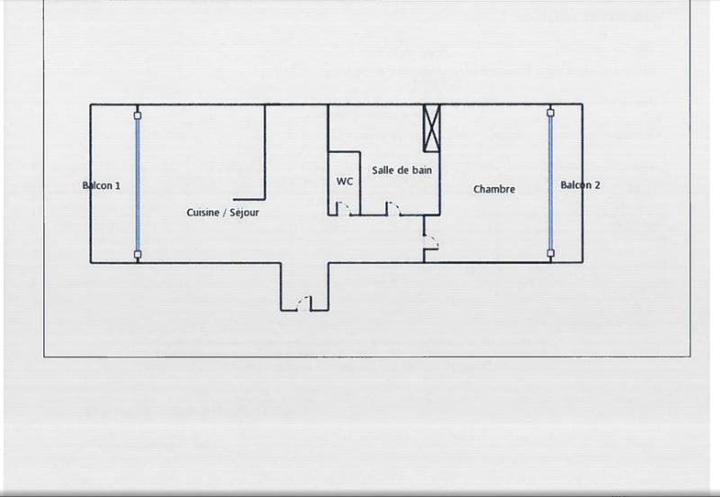 Plan de l'appartement en cours de rénovation pour une prestation de qualité
