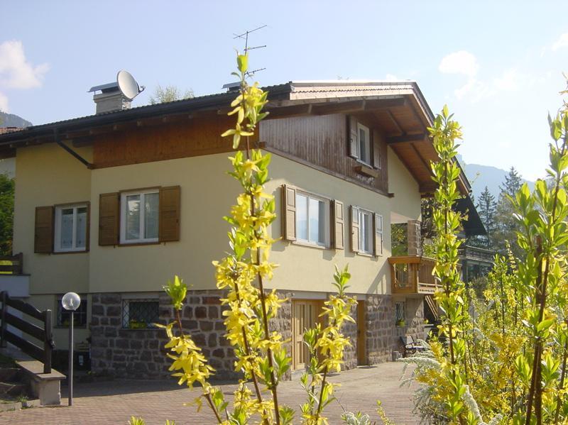 Villa di montagna circondata da un verde giardino., vakantiewoning in Tesero