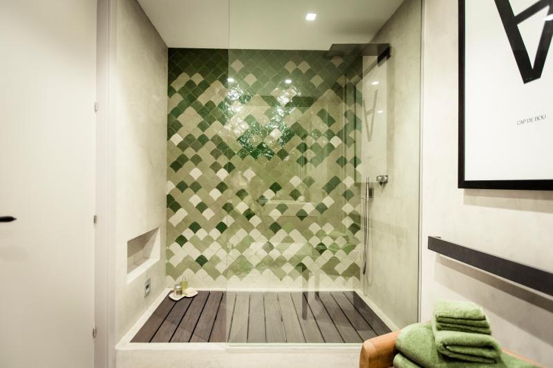 bathroom, shower side,  master suite 1