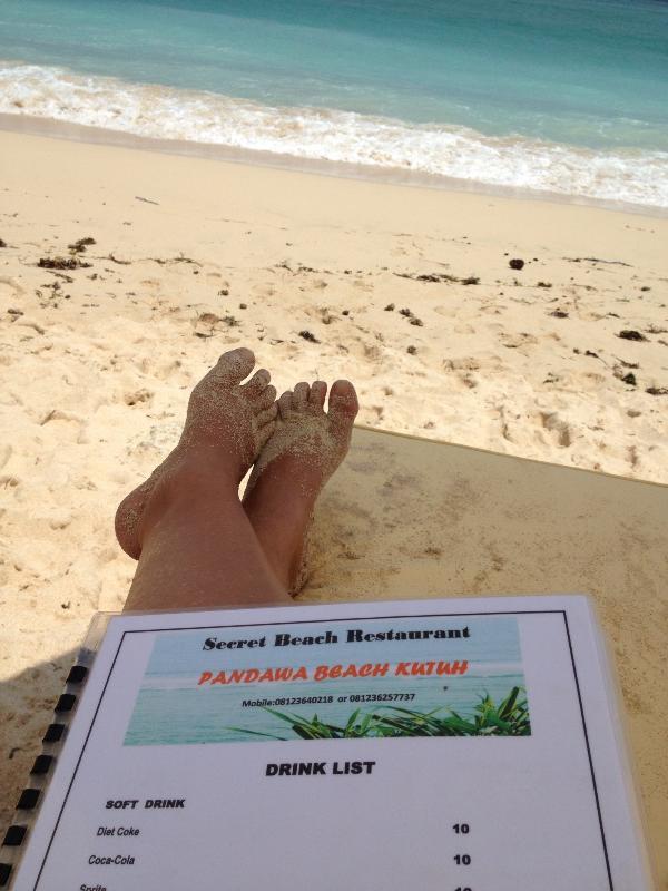 Pandawa Beach ... belle eau propre ... 15 minutes à cette attraction incroyable.