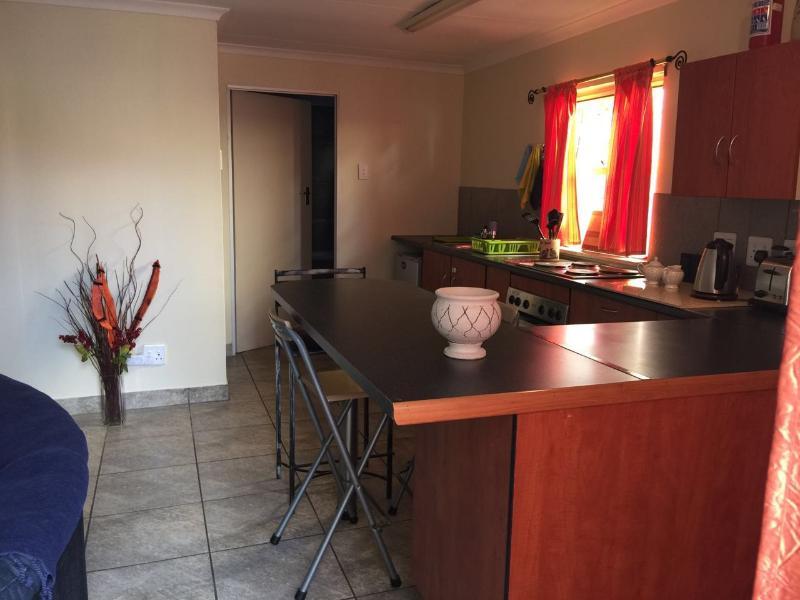 Open plan Kitchen towards the bath room