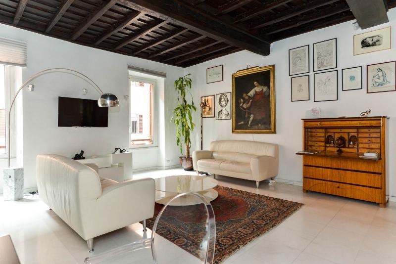 Gambero Luxury Apartment Rome 1 Review Save Living Room