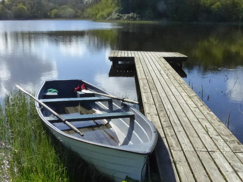 Boating on Lough Fada On-Site