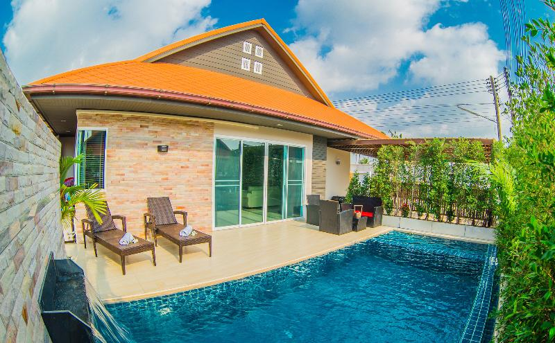 Free Taxi To Central Pattaya Nub Dao Pool Villa Updated