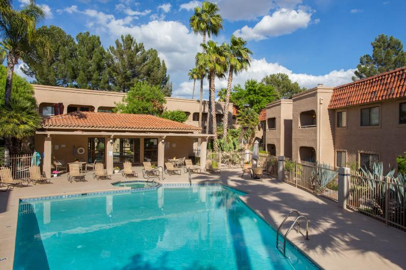 safe and quiet foothills condo