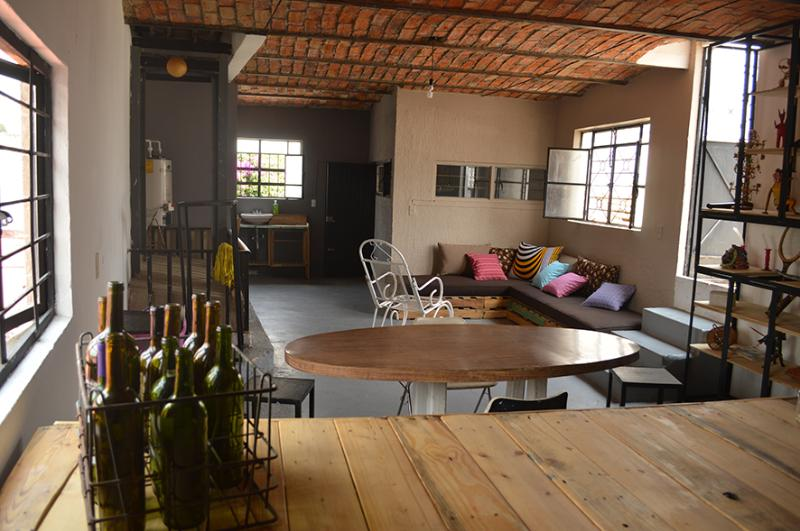 Spacious loft located on first floor