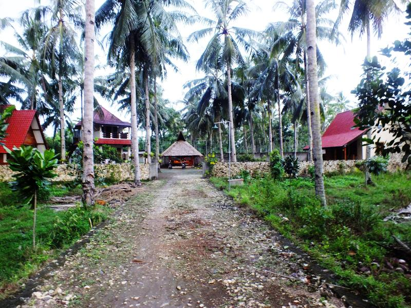 Street view of Sadati home Stay
