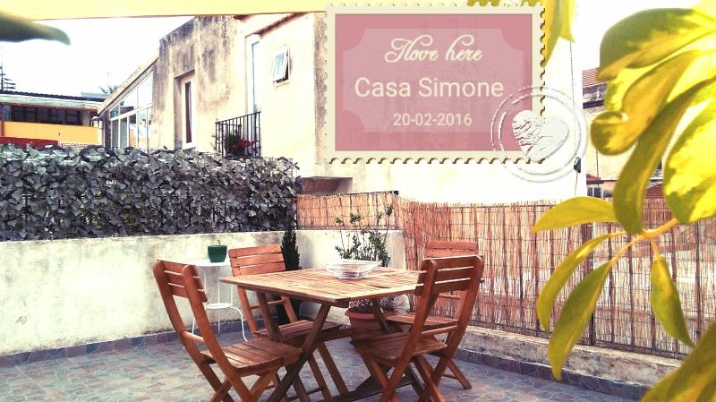 Private terrace -Casa Simone Eolo in Lipari