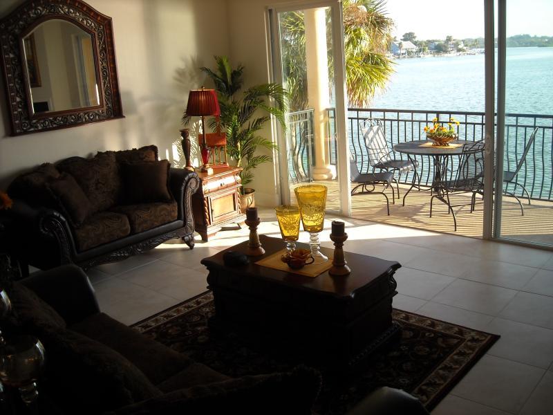 Welcome to Blissful Boca Ciega Bay, back yard