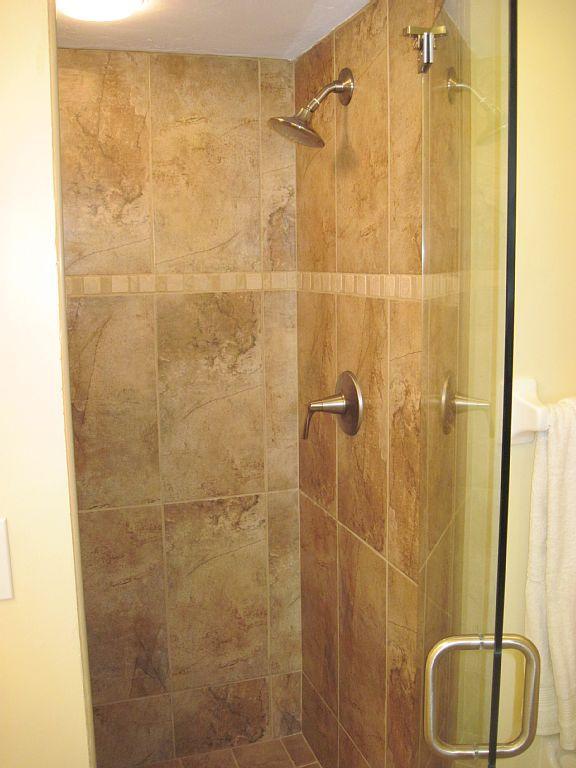 Baño principal Ducha completamente remodelado