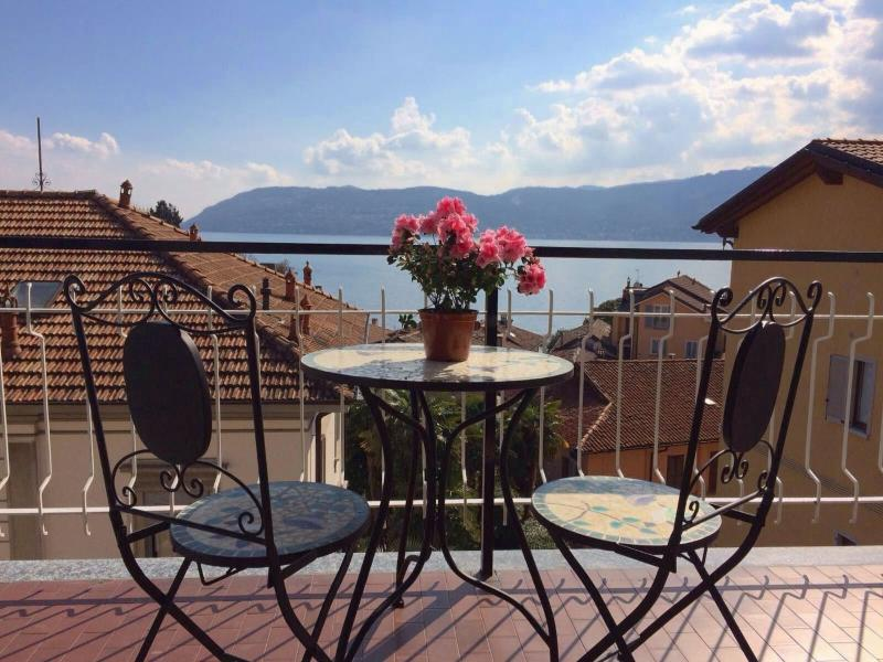 Giuse in the historical centre of Verbania Pallanza with lakeview, holiday rental in Pallanza