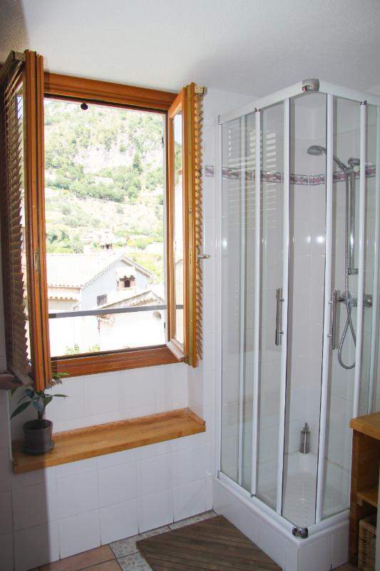 Room Charlotte en-suite shower room with toilettes