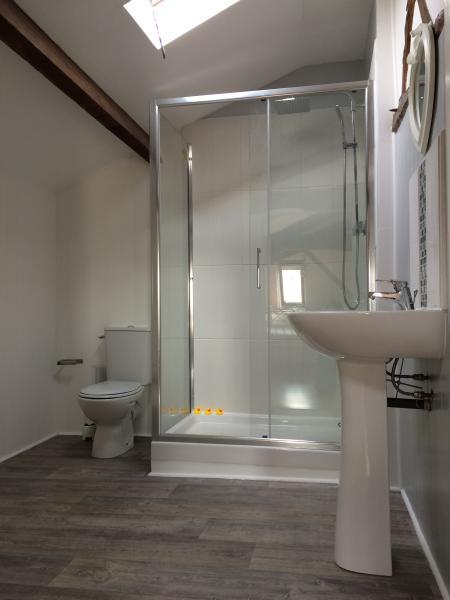 Attic bedroom en-suite bathroom