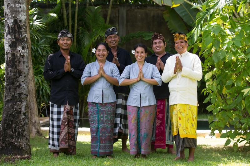 Balinese staff of 6