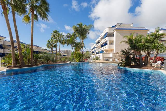 Apartamento en la playa de Los Cristianos – semesterbostad i Arona