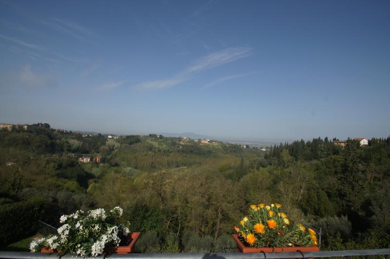 Vista panoramica sulla campagna toscana