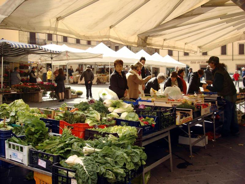 Market on Saturday and Tuesday