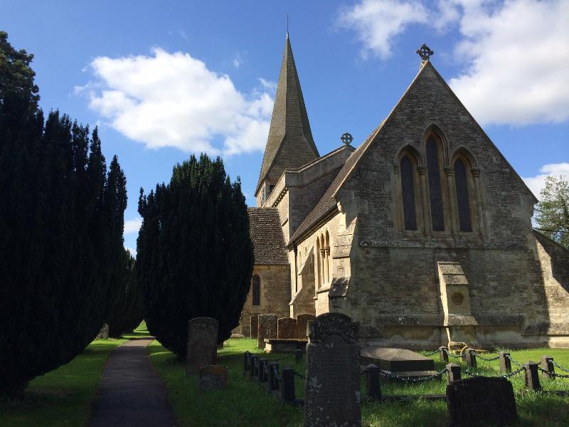 Beautiful Evenley Church