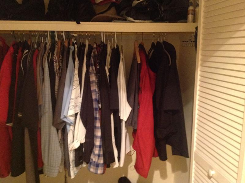 Large closets throughout. His/Hers closets in master.