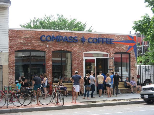 Local blog and Washington Post say this is the hottest coffeehouse in DC.