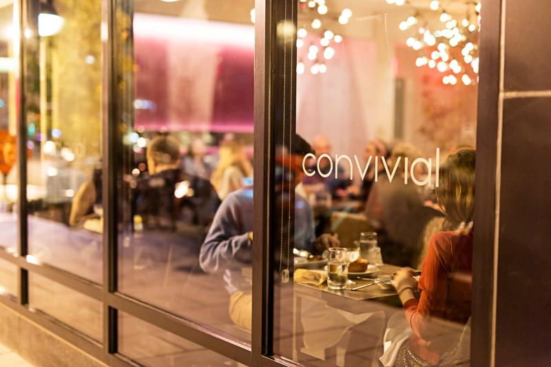New Restaurant, Convivial, receives rave review from Washington Post.