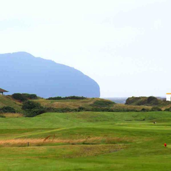 Turnberry Golf Course is about an hour on the coast road
