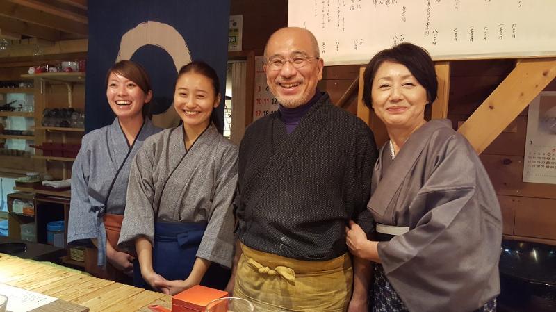 Rai Family Rakuichi Owners
